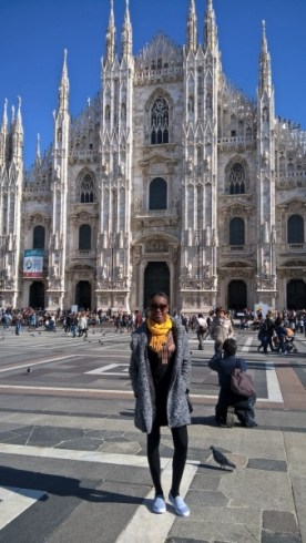 girl in milan