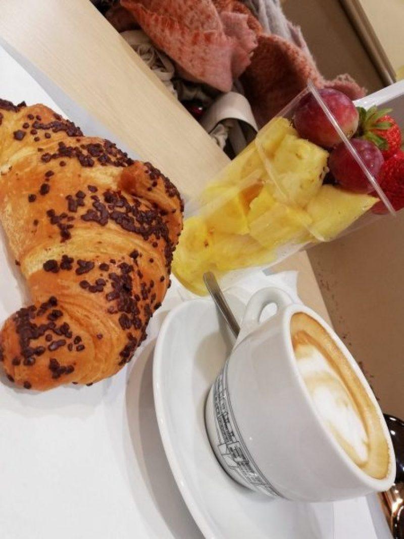 Breakfast in Florence