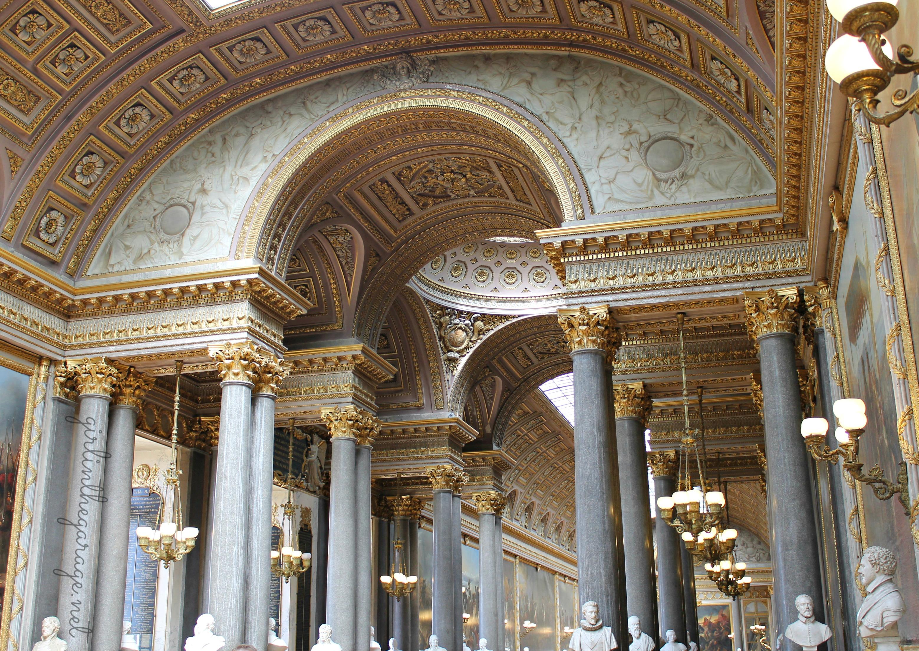 Ancient Roman Palace Dining Halls