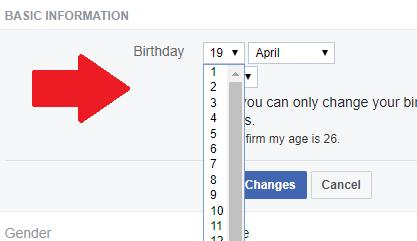 Cómo cambiar tu edad en Tinder