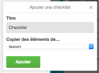 Checklist Copier Trello