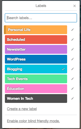Trello - New Editorial Calendar