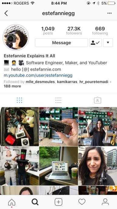 abonnés instagram