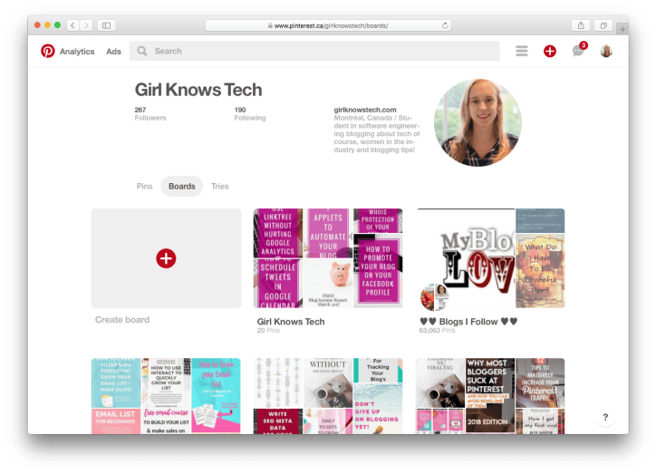 Pinterest GirlKnowsTech