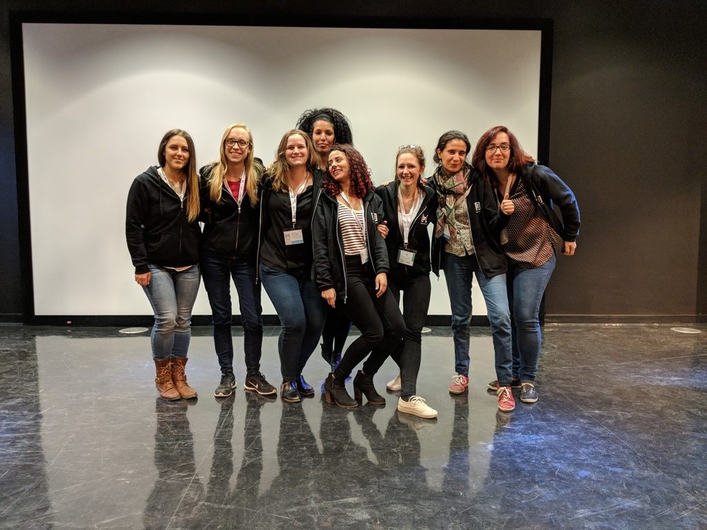 Organizing Team of Women Techmakers Montreal for 2017, 2018 and 2019