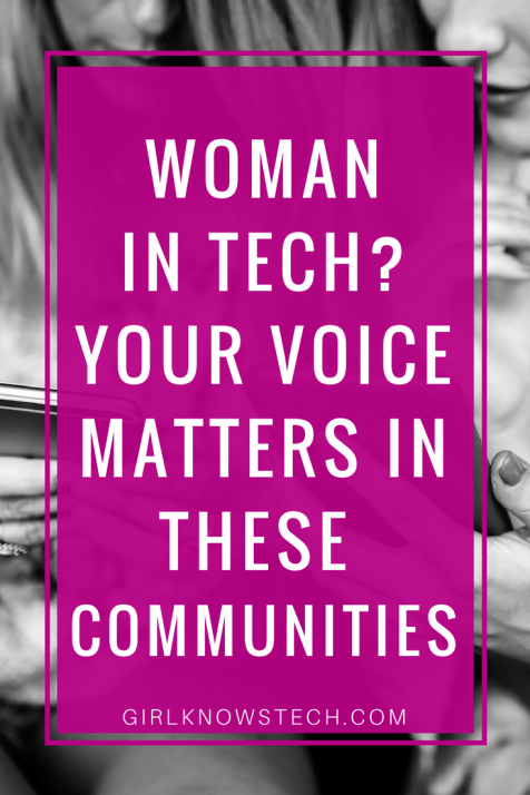 Are you a woman in tech? If so, you might be interested in joining these communities for women in tech so you can meet other women!