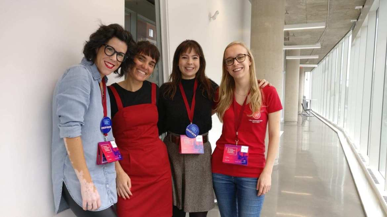4 femmes participant au panel les femmes d'impact - Accomplissements 2018