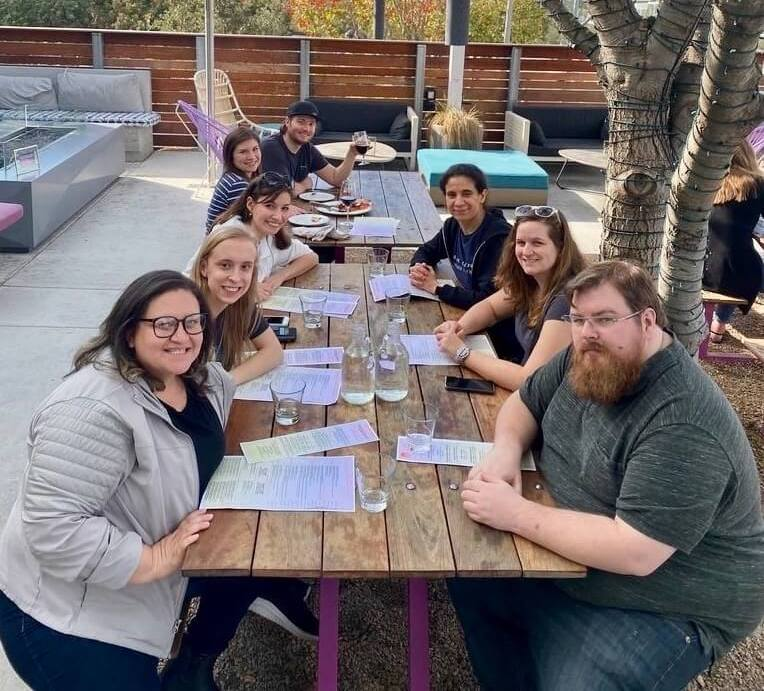 Participants at Google North America Leads Academy having lunch