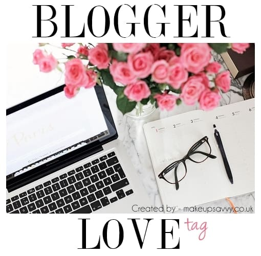 GIMME SOME LOVIN' | The Blogger Love Tag