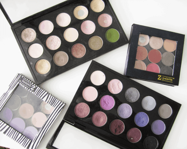 mac cosmetics eyeshadows