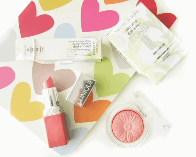 Clinique Melon Pop Cheek pop blush, Lip Colour + Primer Melon Pop