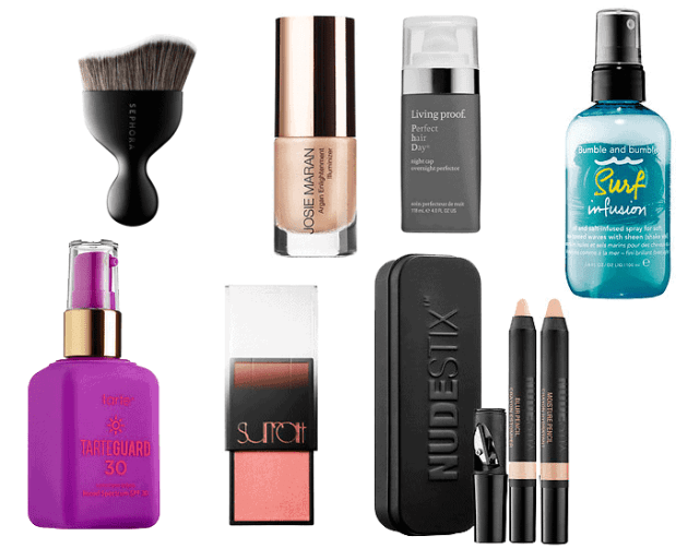 new beauty launches for april 2015 - tarte, bumble and bumble, surratt beauty, nudestix, josie maran, sephora, living proof
