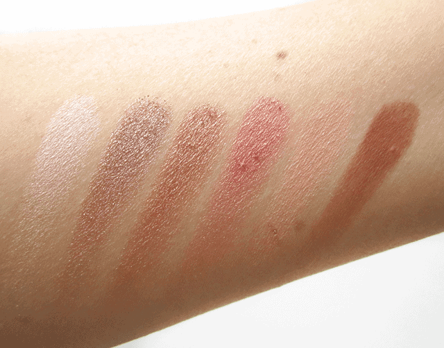 Buxom Eyeshadow Bar Customizable Palette review and swatches