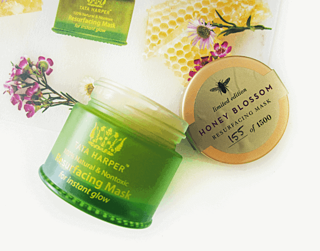 tata harper limited edition honey blossom resurfacing mask review discount code