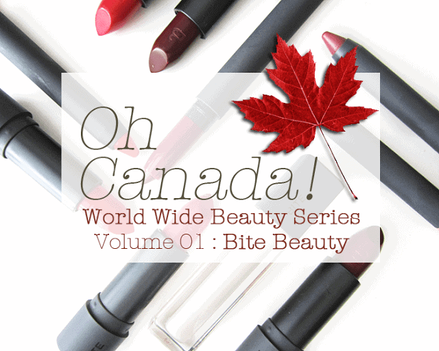 bite beauty, Canada Day, World Wide Beauty Series