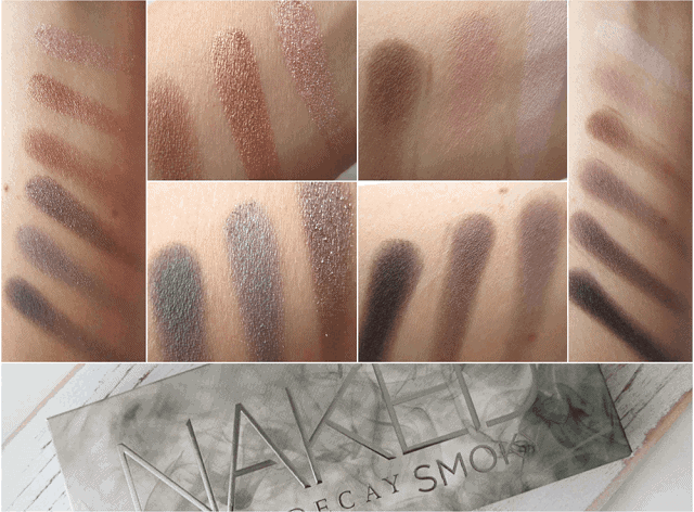 Urban Decay Naked Smoky Palette review, swatches and look