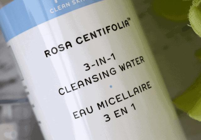 REN Skincare Rosa Centifolia 3 in 1 Cleansing Water