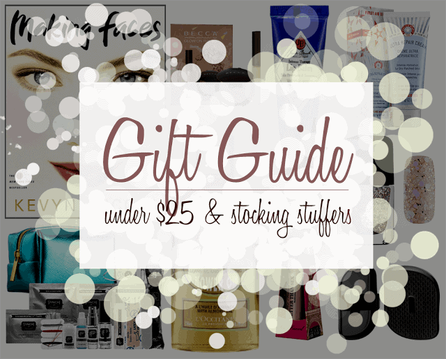 The 2015 HOLIDAY GIFT GUIDE | Under $25 & Stocking Stuffers
