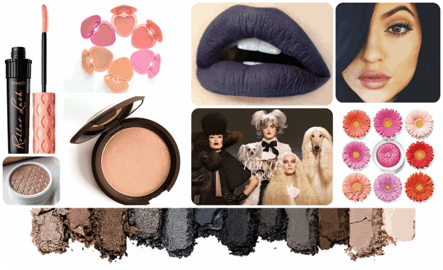Beauty Highlights from 2015: Mac haute Dogs, Colourpop, Kylie Jenner, Champagne Pop, Jaclyn Hill, Benefit Roller Lash, Too Faced, Urban Decay, Grey Lips