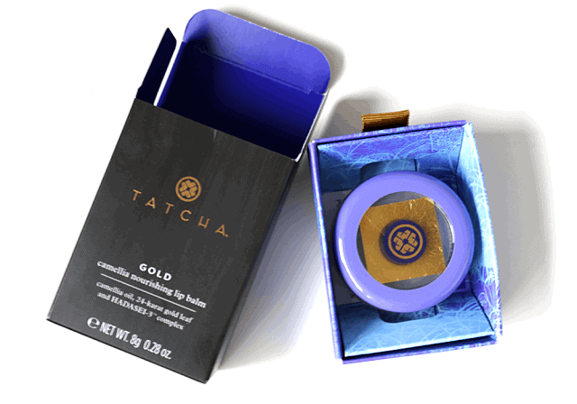 Tatcha Gold Camellia Nourishing Lip Balm Review