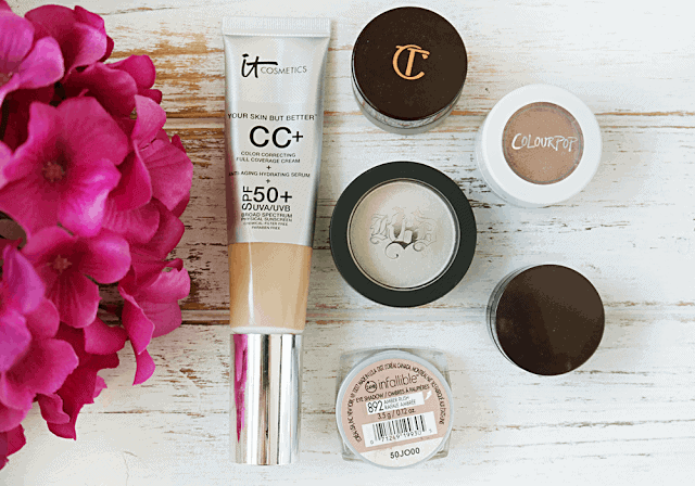 Cosmetics you can apply with your hands: It Cosmetics, Charlotte Tilbury Kat Von D, Laura Mercier, Loreal, Colourpop