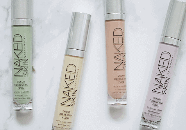 Color Correcting with Urban Decay Naked Skin Color Correcting Fluid