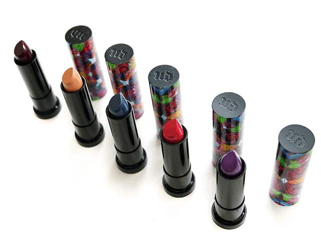 Urban Decay Alice Through the Looking Glass Collection Lipstick Swatches and Review