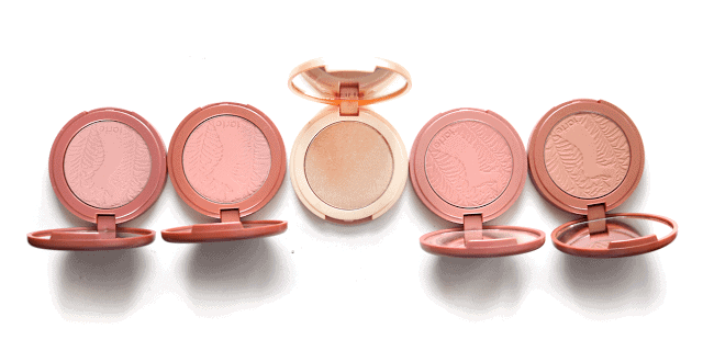 Tarte New Amazonian Clay Naughty Nude Blush Collection and Exposed Highlight Review