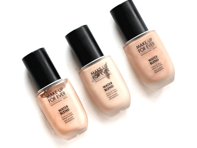 The Revamp: Make Up For Ever Water Blend Foundation vs Face and Body