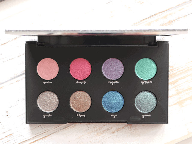 Urban Decay Moondust Palette Review and Swatches