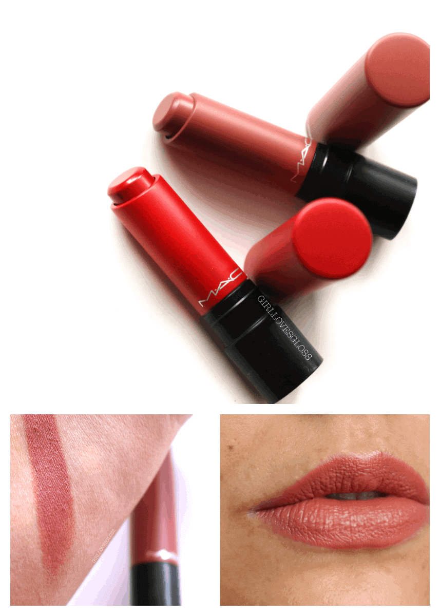MAC Liptensity Lipstick Review and Giveaway