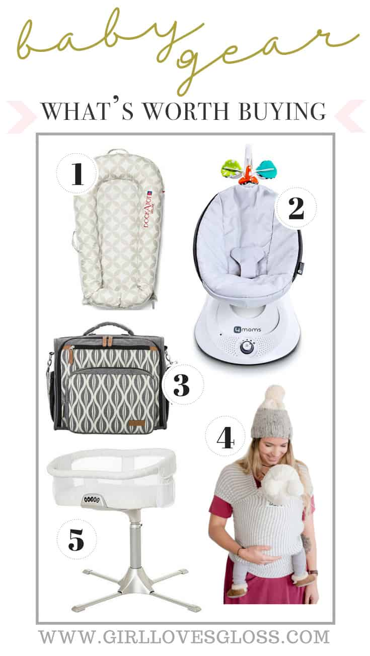 What Baby Gear is Worth Buying