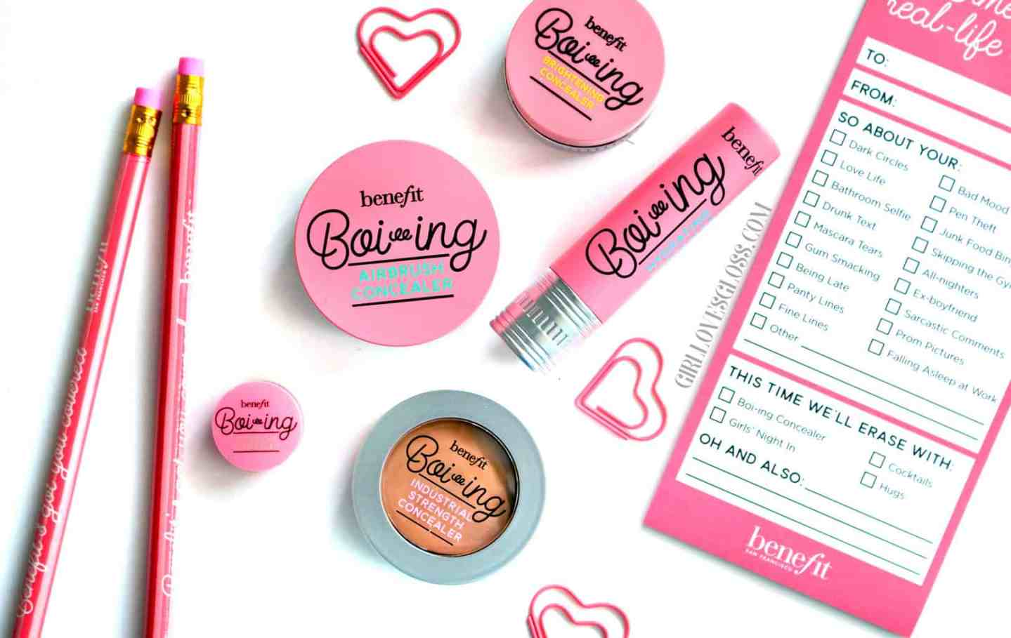 Benefit Boi-ing Concealer Revamp and Expansion