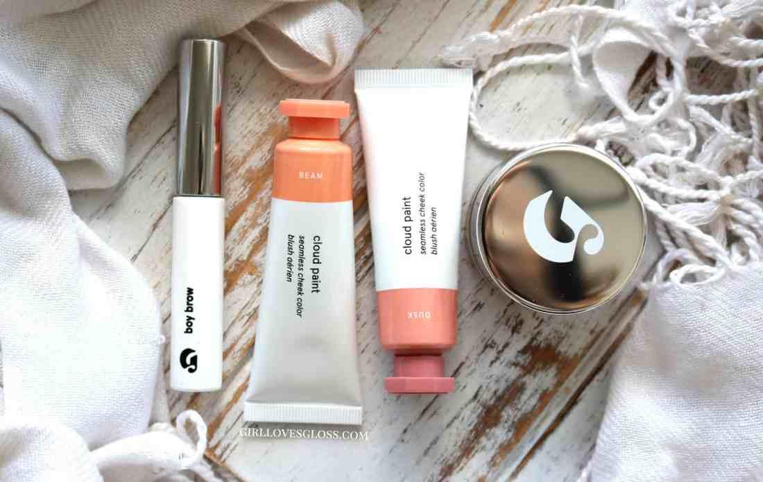 Glossier Makeup Review - Cloud Paint, Stretch Concealer, Boy Brow