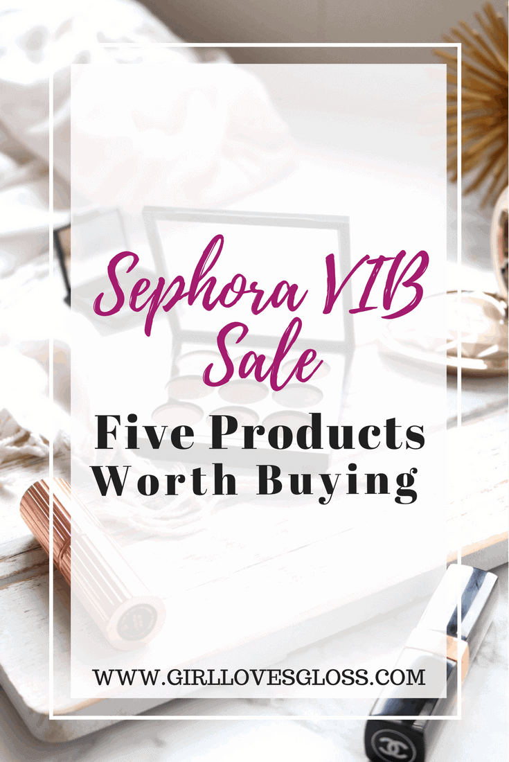 Sephora 2017 VIB Sale Picks