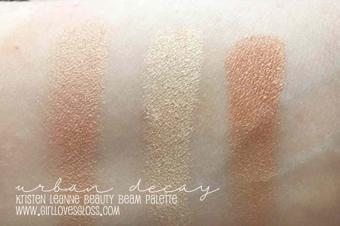 Urban DEcay Kristen Leanne Beauty Beam Palette Review
