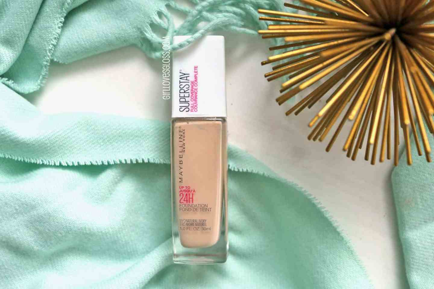Maybelline Superstay Full Coverage Foundation Review