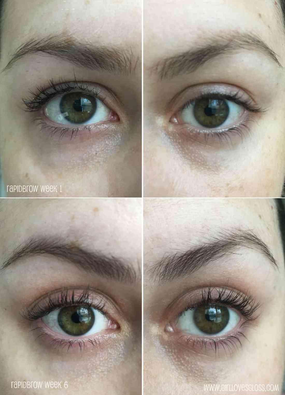 Testing Rapidbrow to see if it makes my eyebrows grow