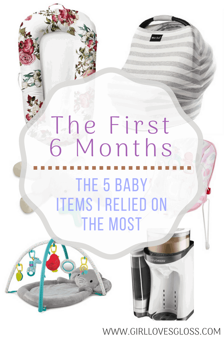 The 6 baby Related Products I Relied on the Most in the First 6 Months