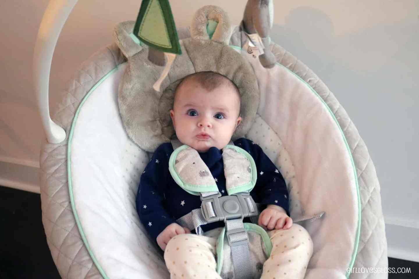 The Only Swing She'd Soothe In | Graco Everyway Soother with Removable Rocker