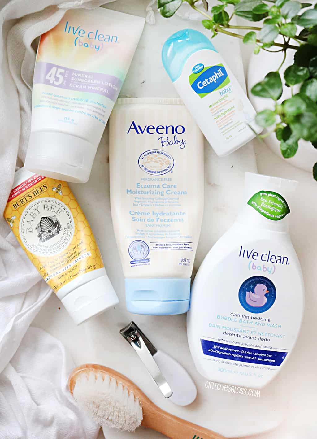 Baby Beauty Products Everly Loves