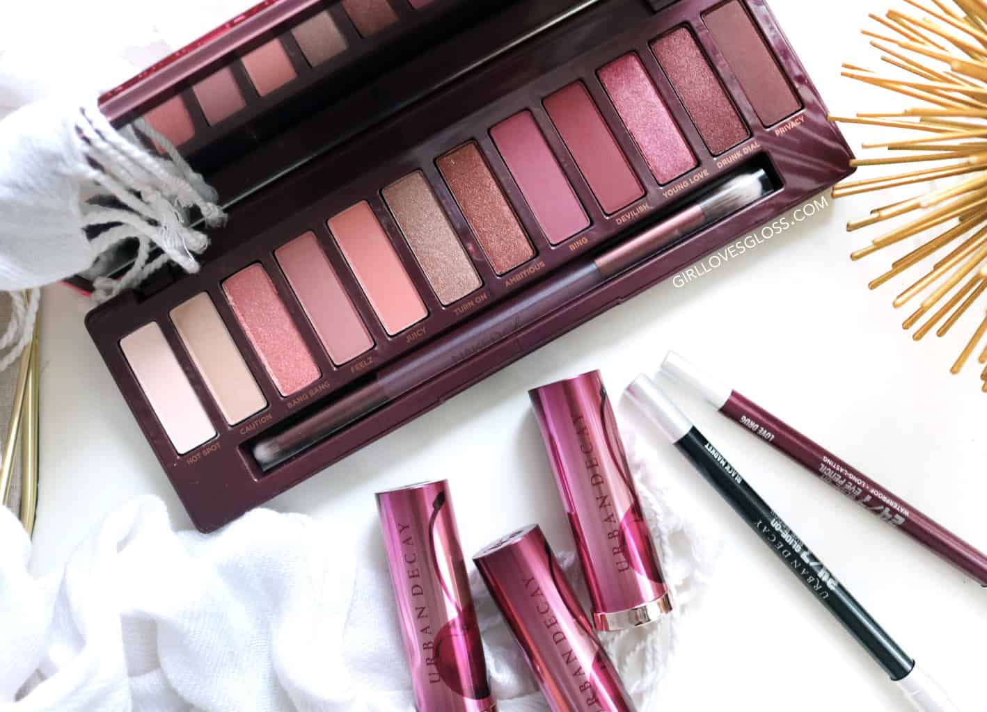 Urban Decay Naked Cherry Collection