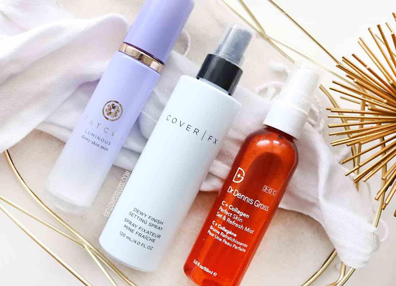 Setting Sprays for dry Skin