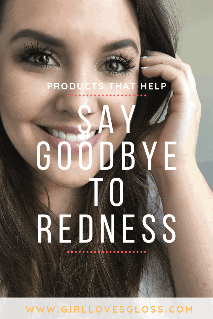 how to say goodbye to redness