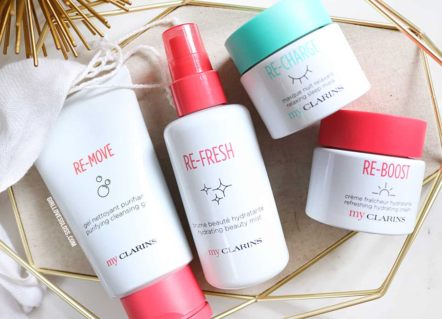 My Clarins Skincare for Millenials Review
