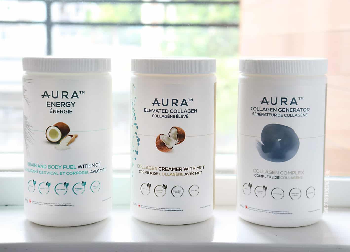 Aura Nutrition Collagen Supplement Vancouver Canada