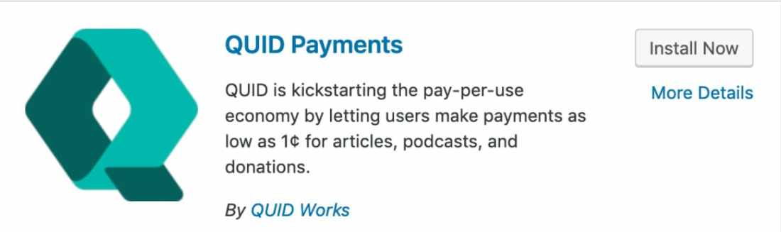 quid micropayments for content creators