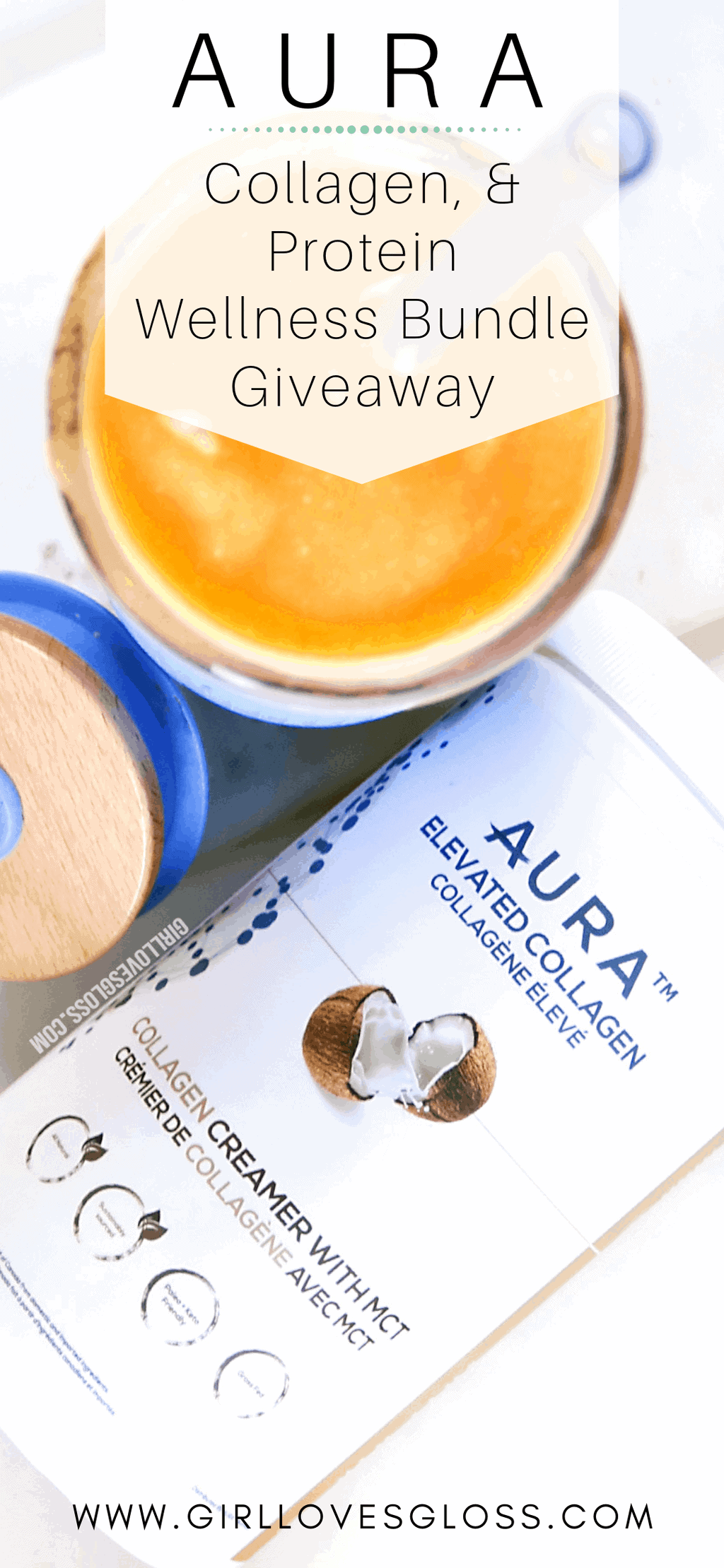 AURA Collagen and Protein Wellness Bundle Giveaway