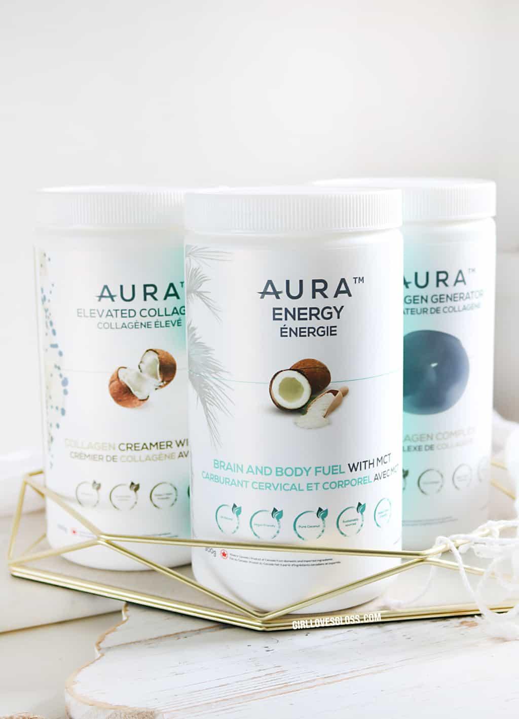 AURA Nutrition Collagen MCT Protein Powder Review