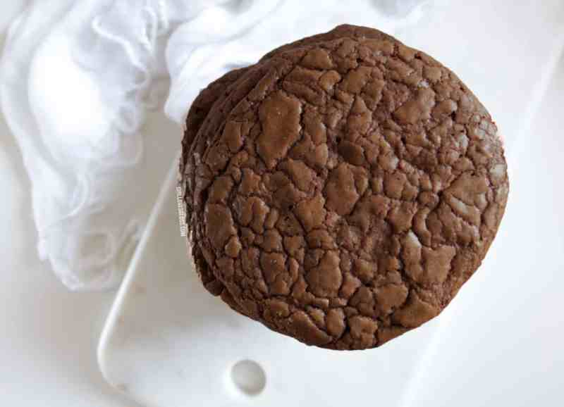 Salted Chocolate Protein Cookies